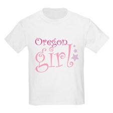 Oregon Girl - curly T-Shirt