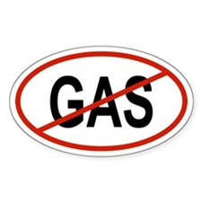 GAS Oval Decal