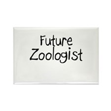 Future Zoologist Rectangle Magnet