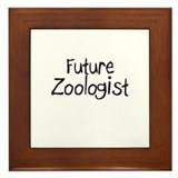 Future Zoologist Framed Tile