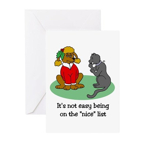 Funny Christmas Greeting Cards (Pk of 10)