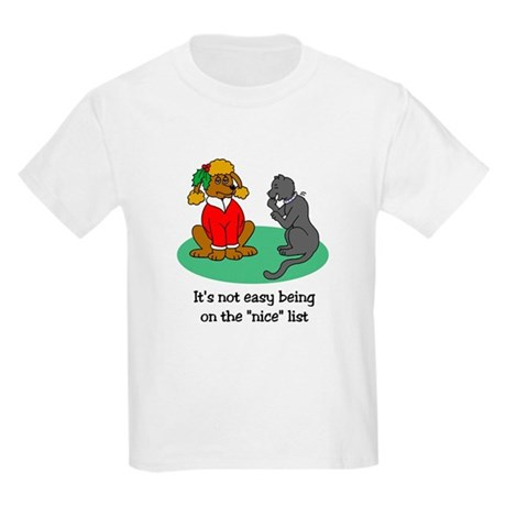 Funny Christmas Kids Light T-Shirt