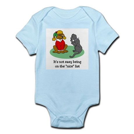 Funny Christmas Infant Bodysuit