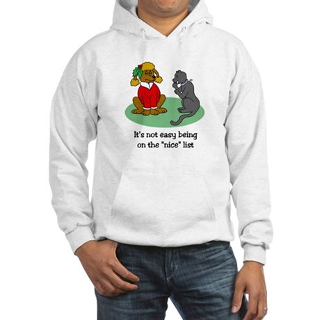 Funny Christmas Hooded Sweatshirt