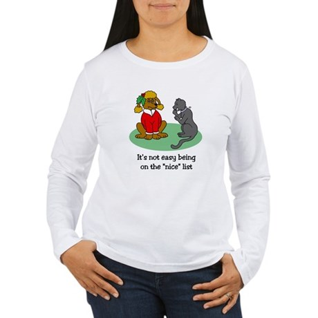 Funny Christmas Women's Long Sleeve T-Shirt