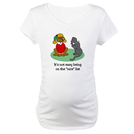 Funny Christmas Maternity T-Shirt