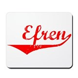 Efren Vintage (Red) Mousepad