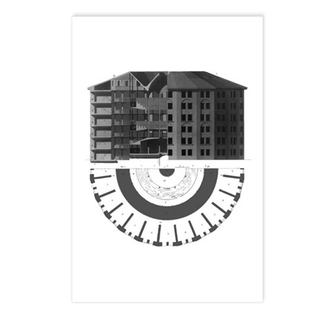 The Panopticon Postcards (Package of 8)