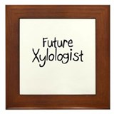 Future Xylologist Framed Tile