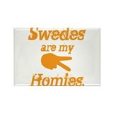 Swedes homies Rectangle Magnet (10 pack)