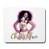 Chaka Khan Leather & Feathers Mousepad