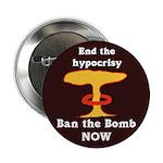 Ten Discount Ban the Bomb Buttons