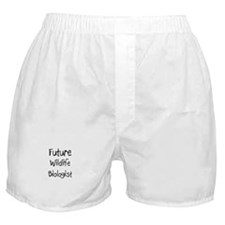 Future Wildlife Biologist Boxer Shorts