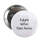"Future Welfare Rights Adviser 2.25"" Button (10 pac"