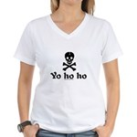 Yo Ho Ho Women's V-Neck T-Shirt