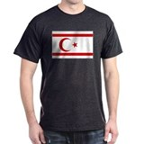 North Cyprus flag T-Shirt