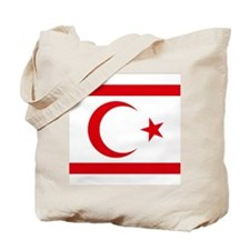 North Cyprus flag Tote Bag