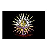 """Stained Glass"" Chalice Postcards (Package of 8)"