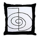 Cho-Ku-Rei (Mrs. Takata Hand Drawn) Throw Pillow