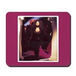 Chaka Khan Portrait with Pillars Mousepad