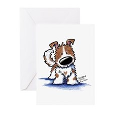 TIPPY Terrier Mix Greeting Cards (Pk of 10)