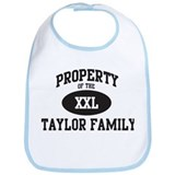 Property of Taylor Family Bib