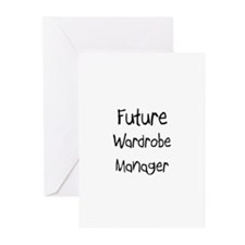 Future Wardrobe Manager Greeting Cards (Pk of 10)