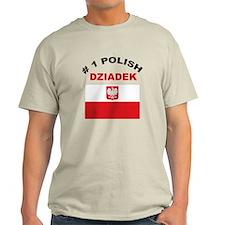 #1 Polish Dziadek T-Shirt
