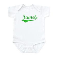 Jamel Vintage (Green) Infant Bodysuit