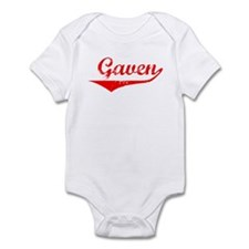 Gaven Vintage (Red) Infant Bodysuit