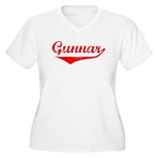Gunnar Vintage (Red) T-Shirt