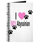 I Love My Abyssinian Journal