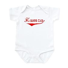 Hamza Vintage (Red) Infant Bodysuit