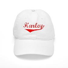 Harley Vintage (Red) Baseball Cap