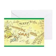 Fontaine Fox Chrismtas Cards (Pkg. of 10)