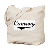 Camron Vintage (Black) Tote Bag