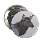 Elk Female #127g Button