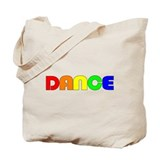 Rainbow Dance Tote Bag