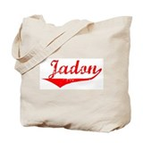 Jadon Vintage (Red) Tote Bag