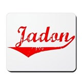 Jadon Vintage (Red) Mousepad