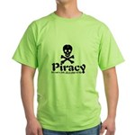 Piracy Green T-Shirt