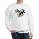 Daisy Heart Sweatshirt