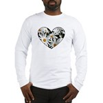 Daisy Heart Long Sleeve T-Shirt