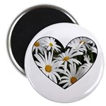 Daisy Heart Magnet