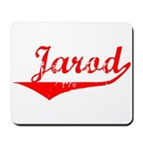 Jarod Vintage (Red) Mousepad