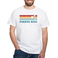 Retro Puerto Rico Palm Tree Shirt