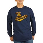 Eaton Beavers Long Sleeve Dark T-Shirt