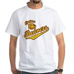 Eaton Beavers White T-Shirt