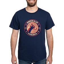 Doberman Vintage Emblem T-Shirt