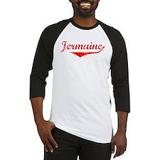 Jermaine Vintage (Red) Baseball Jersey